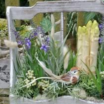 Roślina dekoracyjna Lawenda, Śródziemnomorska Lawenda Doniczka, Sztuczny Kwiat Fioletowy