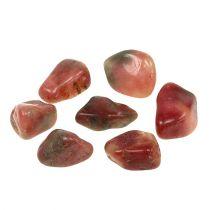 Deco kamienie różowo-kremowe błyszczące 4cm - 6cm 1kg