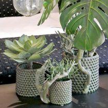 Deco Succulent Artificial Green Ø30cm H27cm