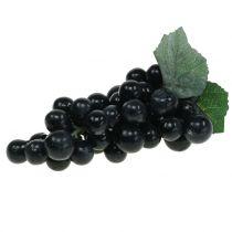 Deco Grapes Black 18cm