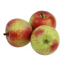 Jabłko ozdobne czerwone, zielone Ø6cm 6szt