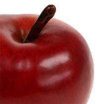 Dekoracyjna czerwień jabłkowa matowa 8cm 1szt
