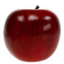 Jabłka ozdobne czerwone, lakierowane Ø8cm 6szt