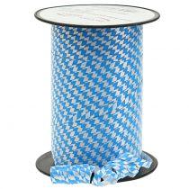 Wstążka dekoracyjna niebiesko-biała 5mm 250m
