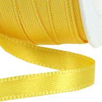 Wstążka prezentowa żółta 3mm x 50m