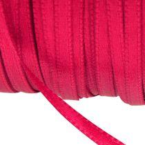 Wstążka prezentowa i dekoracyjna 3mm x 50m różowa