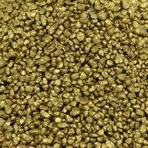 Granulki dekoracyjne żółte złoto 2mm - 3mm 2kg