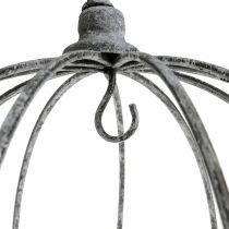 Dekoracyjna korona do zawieszenia Ø33,5cm H31,5cm