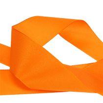 Wstążka prezentowa i dekoracyjna 40mm x 50m pomarańczowa