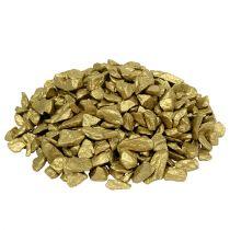 Kamienie ozdobne 9mm - 13mm 2kg żółte złoto