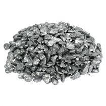 Kamienie ozdobne 9mm - 13mm 2kg srebrne
