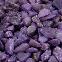 Kamienie dekoracyjne bakłażan 9mm - 13mm 2kg