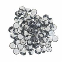 Kamienie ozdobne Diament Akryl Szary Ø1,2cm 175g Ozdoba jubilerska