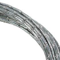 Diamentowy drut aluminiowy srebrny 2mm 10m