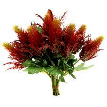 Oset czerwono-zielony 20cm 12szt.