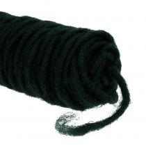 Nić filcowa wicking thread ciemnozielona 55m