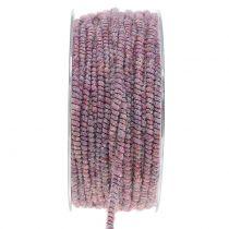 Nić do nawadniania Glamour Purple z drutem 33m