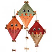 Latawiec dekoracyjny do powieszenia jesienna dekoracja jutowa Asortyment 40×55cm 3szt.
