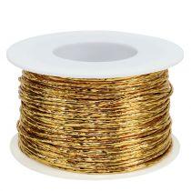 Owijane drutem złotym Ø2mm 100m