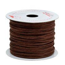 Nawinięty drut 50m Brązowy