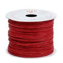 Nawinięty drut 50m Czerwony