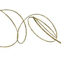 Owijane drutem 50m złota