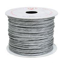 Owijane drutem 50m srebrny