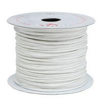 Nawinięty drut 50m Biały