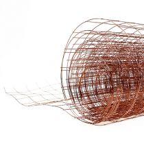Siatka druciana miedziana 35cm x 5m