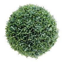 Echeveria kula sztuczna zielona Ø18cm