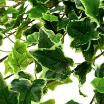 Ivy Hanger Real Touch Green-White 130cm