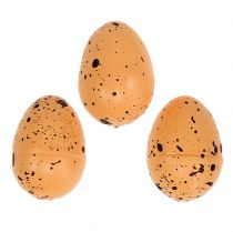 Jajko wykonane ze styropianu pomarańczowego 3,5cm 24szt