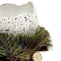 Jajko w gnieździe Ø11cm W12cm 4szt