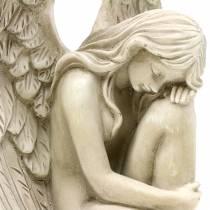 Dekoracyjny anioł dekoracja grobu 16,5cm × 12cm H19cm