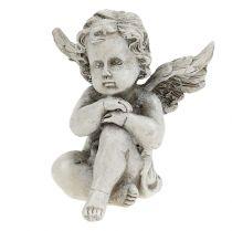 Figurki aniołów szare 9cm 3szt.