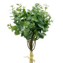 Gałązka Eukaliptusa Sztuczna Zielona 37cm 6szt.