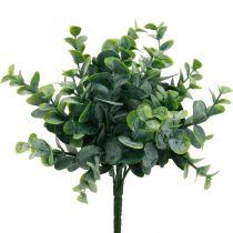 Sztuczny Eukaliptus Dekoracja Ślubna Gałązki Eukaliptusa Zielone H26cm