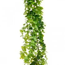 Dekoracje Ślubne Girlanda Eukaliptusowa Sztuczna Zielona 122cm