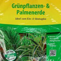 FRUX ziemia zielona do roślin i palm 5l