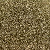 Piasek kolorowy 0,5mm żółte złoto 2kg