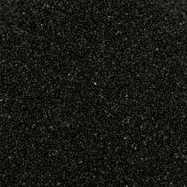 Piasek kolorowy 0,5mm czarny 2kg