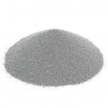 Piasek kolorowy 0,5mm srebrny 2kg