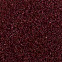 Piasek barwiony 0,5mm Burgund 2kg