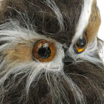 Dekoracja zimowa, sowa, puszczyk, jesień H16cm