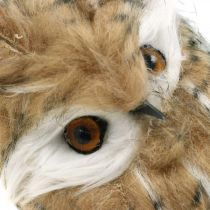 Leśna sowa, jesienna dekoracja, dekoracyjna sowa, Halloween H16cm