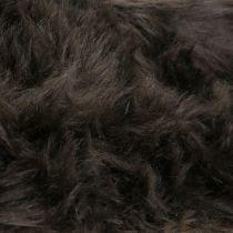 Wstążka futerkowa Deco ciemny brąz 16x200cm