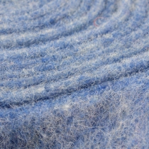 Taśma filcowa niebieska 15cm 5m