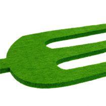 Filcowe narzędzie ogrodnicze zielone 4szt
