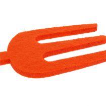 Filcowe narzędzie ogrodowe pomarańczowe 6szt