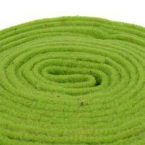 Filcowa wstążka 7,5 cm x 5 m zielona